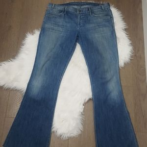 CITIZENS OF HUMANITY Uber low Rocker flare jeans
